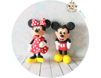 Cercei Mickey & Minnie Mouse