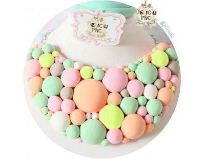 """Colier """"Pastel Bubble Gum"""""""