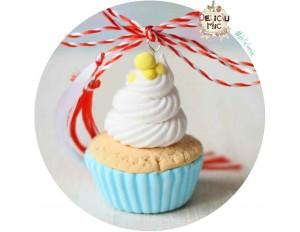 "Martisor Pandantiv ""Sunny Cupcake"""