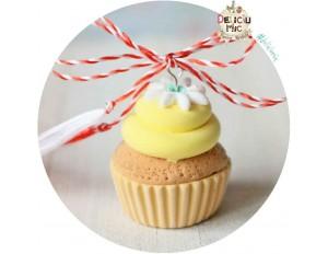 Martisor Pandantiv Lemon Cupcake