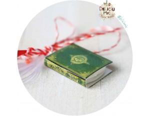 Martisor Medalion Carte (cu dedicatie mai ales pentru profesori & invatatrori)