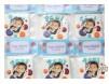 """Marturie magnet rama foto """"Imbulinata"""" - personalizata cu numele bebelusului"""
