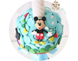 """Lumanare botez """"Clubul lui Mickey Mouse"""""""