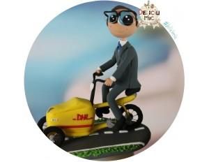 Figurina Aniversara Tricicleta DHL