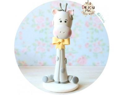 """Figurina de tort """"Girafa Vesela"""""""