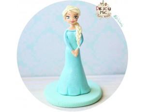 Figurina de tort pentru copii  - printesa Elsa, Frozen
