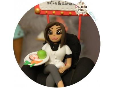 Figurina de tort Medic Nutritionist