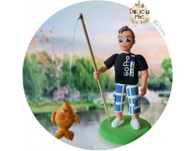 "Figurina aniversara "" la Pescuit """
