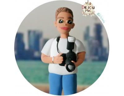 "Figurina de tort ""Fotograf"""