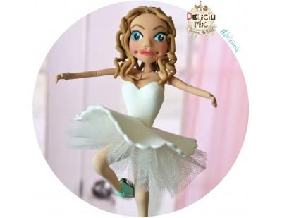 """Figurina aniversara """" Balerina """""""
