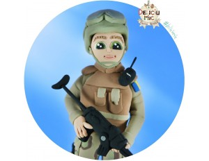 Figurina personalizata Soldat