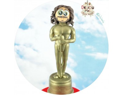 Statueta Oscar personalizata (20 cm inaltime)