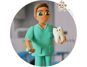 """Figurina aniversara """" Medic Dentist """" / """" Tehnician Dentar """""""