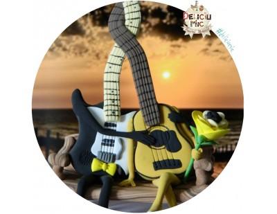 Figurine Tort Nunta - Chitari Mire si Mireasa