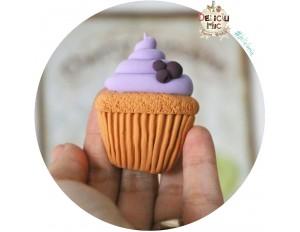 Brosa handmade - Cupcake de afine