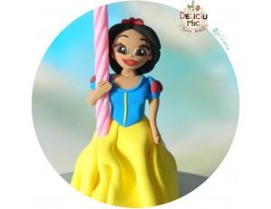 "Figurina de tort ""Alba ca zapada"""