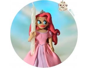 Figurina de tort Ariel