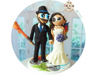 Figurine de tort pentru nunta - Nunta magica