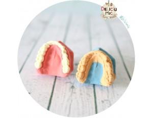Cercei cu surub 1 cm Proteza si Model dentar