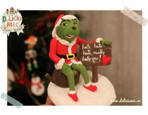 Figurina Grinch
