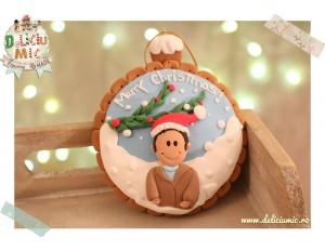 """Merry Christmas!"" - Glob personalizat pentru brad"