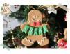 "Decoratiune personalizata cu Numele ""Christmas Gingerbread Man"""