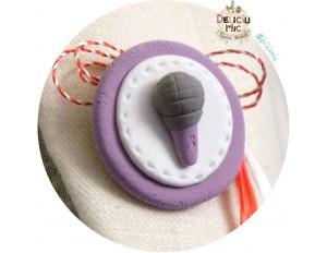 Martisor Brosa Microfon mov