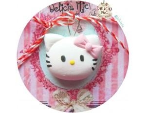 "Martisor Medalion ""Hello Kitty"""