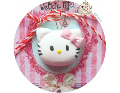 "Martisor Medalion ""Hello Kitty"""