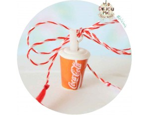 "Martisor Medalion ""Pahar Coca-Cola"""