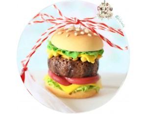 "Martisor Medalion ""Hamburger XXL"""