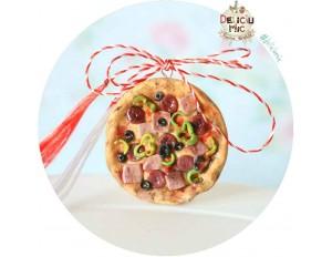 """Martisor Medalion """"Pizza"""""""