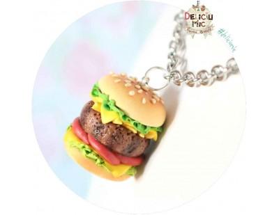 Pandantiv Hamburger Delicios