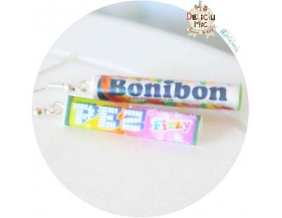 Cercei bomboane Bonibon & Pez