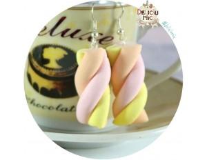 Cercei marshmallows rasucite